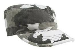Кепка Rothco Ultra Force City Camouflage Vintage Military Fatigue Cap