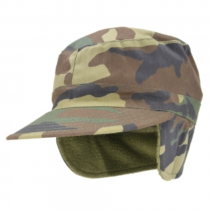 Кепка Rothco® - Woodland Camo G.I. Type Combat Caps with Flaps