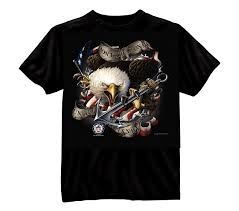Black Ink Design Printed T-Shirt - Black / U.S. Navy Don't Tread On Me # 80315