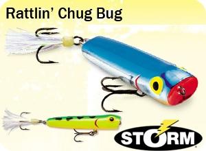 воблер storm rattlin chug bug