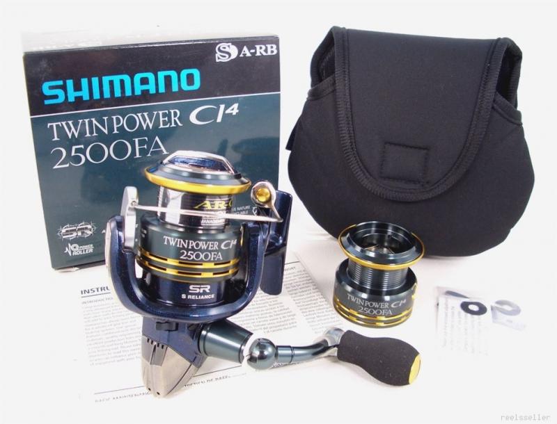 Катушка Shimano Twin Power CI4 2500 FA
