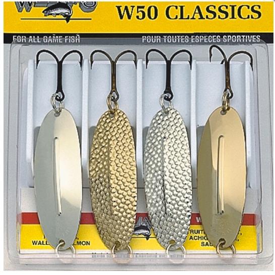 Набор блёсен WILLIAMS WABLER W 50 CLASSIC ― Рибацький Шлях
