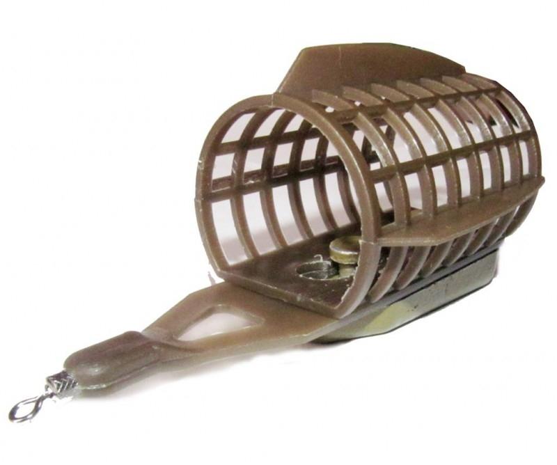 кормушка для прикормки рыбы на течении